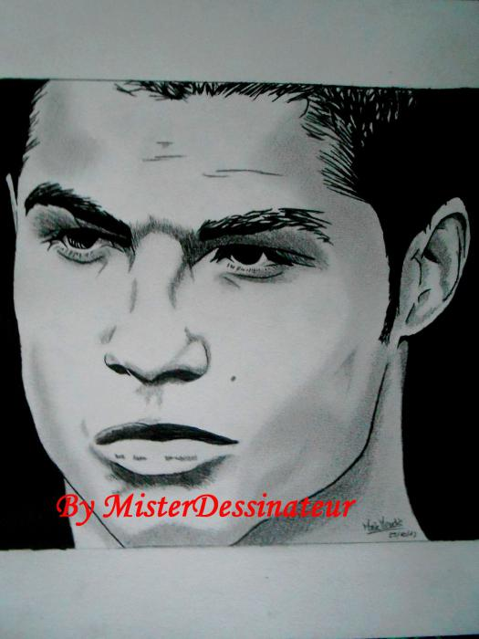 Cristiano Ronaldo by MisterDessinateur45